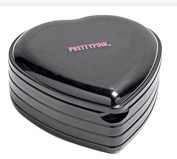 Pretty Pink Heart Shaped Cosmetic Box and Make-Up Set Beaufitul & Stylish