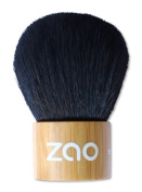 ZAO Kabuki Makeup Powder Brush Made of Bamboo for Natural Cosmetics