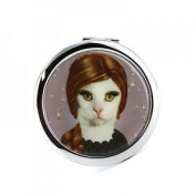 Pet's Rock Songbird Adele Compact Mirror