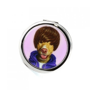 Pet's Rock Teen Compact Mirror