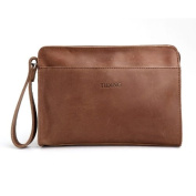Men's Genuine Leather Handmade Clutch Bag