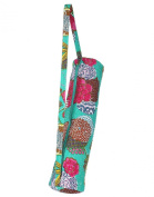 Cotton Bags Fruit Printed Kantha Work Cotton Yoga Bag