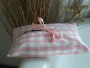 Baby Cleansing Wipes / Wet Wipes Case or Holder - Pink Gingham