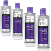 Pro:Voke Professional Daily Maintenance Shampoo Touch of Silver for Blonde, Grey or White Hair 200 ml