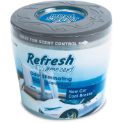 Refresh Your Car Dual Scent Gel, 150ml, New Car/Cool Breeze