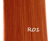 "Prettyland 11772A - 24"" 60cm straight Clip in Ponytail Hair Piece Wig Extension - R01 Red"