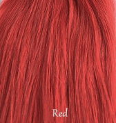 Miss Lilac 100% Human Clip in Hair Extensions Half Head 50cm - #Red