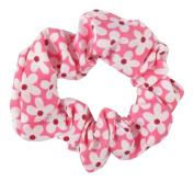 Pink Daisy Hair Scrunchie IN4658