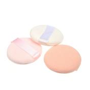 Five Season VOV Face Body Round Shape Powder Puff Cosmetic Makeup Soft Sponge--3pcs