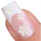 Snowflake Adhesive Nail Stickers Art