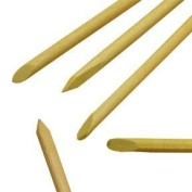 "Wooden manicure sticks / cuticle pusher 6"" / 150mm long - Pack of 100"