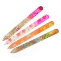 4pcs Multicolor Crystal Glass Nail Art Files Manicure Pedicure Beauty Tool Kit