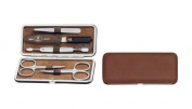 Zwilling Manicure Twinox 97063 - 006 - 0 Manicure Kit 5 Pieces Brown leather