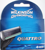 """Wilkinson sword quattro 4 blades"""