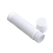 FOONEE Empty Circle PP Lip Balm Tubes Containers With Cap