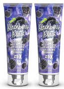 2 X FIESTA SUN BLACKBERRY BLAST 236ML SUNBED LOTION TANNING CREAM