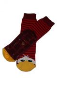 Weri Spezials High ABS terry socks. Design - a cheerful duckling: Size
