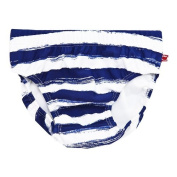 Australian UPF50+ Baby Boy's Swim Nappy size Large (approx 12-24 months - 10-13kg) Navy Blue Stripe