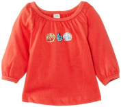 Sense Organics Baby Girls Loana Styled Long Sleeve Top