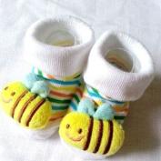 HuntGold Cute Baby Kid Toddler Newborn 3D Cartoon Short Sock Slipper Shoe Children Bootie