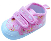 MABINI® Baby Girls Shoes / Booties With Floral Design & Velcro Straps