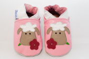 Soft leather baby shoes sheep