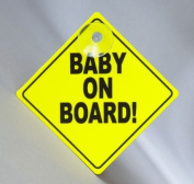 GripFast Baby On Board Sign