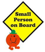 Small Person on Board 3D Car Sign, Baby on Board sign made with thick EVA foam