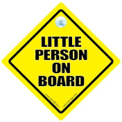 Little Person On Board Car Sign, Little Person On Board, Little Person on board sign, Baby On Board Sign, Novelty Car Sign, baby on board, Baby Sign, Car Sign, Road Sign, Decal, Bumper Sticker