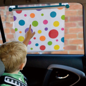 Koo-di - Spotty Sun Shade - Car Roller BLind