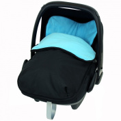 iSafe Buddy Jet Carseat Footmuff - Ocean