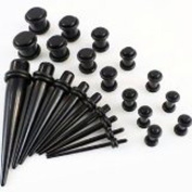 Ardisle Full Kit Ear Taper Kit Ear Plug Set Taper Stretching Expanders Tapers Stretchers