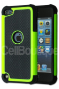 CellBoutique®Triple Layer Armoured Case For The Apple iPod Touch 5 5th Generation Green