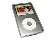 iGadgitz Crystal Hard Case Cover for Apple iPod Classic 80GB, 120GB & Latest 6th Generation 160gb launched Sept 09 + Detachable Belt Clip