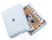4 Pair BT Telephone IDC Terminal Block Coupler Junction Box Unit 78A