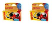 Kodak Fun Flash Disposable Camera - 39 Exposures Pack of 2