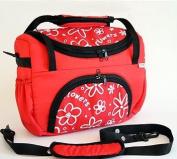 BABY TRAVEL BAG TRAVELLER DELUXE CHANGING / SHOULDER / nappy BAG - RED