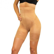 Extra Slimming Pants 600 - WEIGHT LOSS - BODY SHAPER - SHAPE WEAR FOR WOMEN - BEIGE - LARGE - EXSL600BE