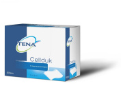 TENA Cellduk Disposable Washcloths, 25 x 26cm, Box of 200 x 2