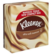 Kleenex Compact Ultra Soft Mansize Tissues Box