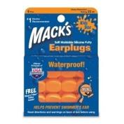 Macks 24 Pairs 4 Packs Of Kids Moldable Silicone Earplugs