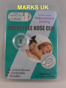 BEA18 The Health Clinic Reusable Snore Free Nose Clip