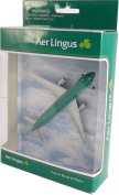 Real Toys AL76340 Aer Lingus Airbus A320 Toy Plane approx 15cm long