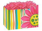 1 Large Flowers Floral Citrus Garden Gift Basket Box 25cm - 0.6cm X 15cm X 18cm - 1.3cm for Gift Baskets