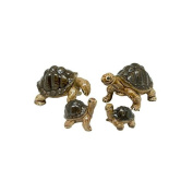 Miniatures Ceramic Cute Turtle FIGURINE Animals Decor and Dollhouse
