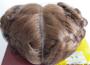 KEMPER Originals Craft DOLL HAIR WIG Style MARQUE Fits SIZE 18cm - 20cm AUBURN Colour