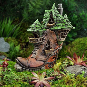 Miniature Ladies Boot Fairy House