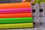 Neon Solid Faux Leather Fabric for Home Decor Furniture Upholstery Application,bags/purses Crafting,zakka Fabric 140cm Wide,sold By Half Yard