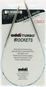 addi Turbo Sock Rockets 16-inch (40cm) Circular Knitting Needle; Size US 00