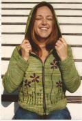Dolce Handknits Knitting Pattern WJSE-0708 Jasper Zip-front Hoodie